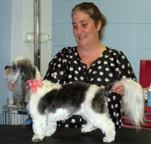 Laurel Beveridge Walker, Georjeans Pet Grooming, Warrenton VA