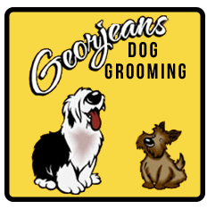 Georjeans Dog Grooming Logo